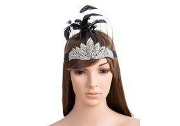 Wholesale Tiaras Para Pelo - Hippie Tribal Feather Headband Headdress Fancy Dress Costumes Headgear Campfire Cintas para el pelo