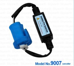 Wholesale Hid Headlight Warning Canceller - 2pcsCar HID Xenon 9004 9007 Warning Canceller Decoder for 9004 9007 High low beam HID xenon headlight