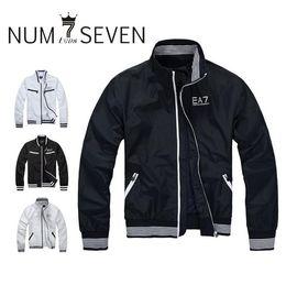 Wholesale Men Sport Jacket Coat - men jacket BRAND coat tracksuit spring autumn leisure sport men's coat cotton sports wear jackets