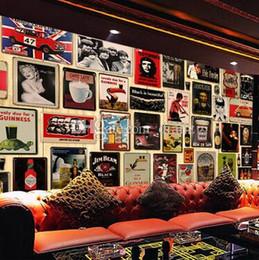 stagno stampato all'ingrosso Sconti Fashion Hot Wine da tutto il mondo targhe in metallo arredamento casa House Cafe Bar in ferro dipinto Metal Craft regalo