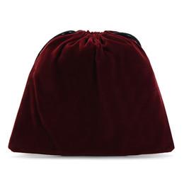 Bolsas de lazo de terciopelo rojo vino suave para almacenamiento en el hogar y bolsas de viaje de organización para sujetador y camisetas de la camiseta desde fabricantes