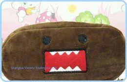 Wholesale Stationery Gift Pack - Japan Domo KUN Plush Pen Pencil BAG Pouch Case Pack Pendant Cosmetics & Gift Stationery Pouch Bag Case Coin Purse Wallet BAG