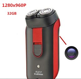 Wholesale Shaver Camera - 32GB 1280*960 Mini DVR camera Hidden Shaver Camera Video Digital Recorder Spy Shaver Mini DVR camera DVR Recorder free shipping