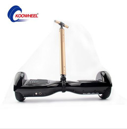 Wholesale Electronic Wheels - Hoverboard pull rod 2 wheel self balancing electric scooter trolley,electronic scooter tie rod ,hoverboard portable handle free shipping
