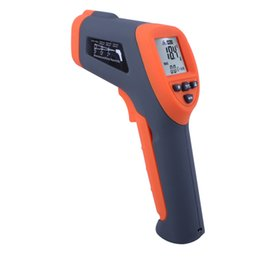Wholesale Ir C - Non-contact Infrared Laser Thermometer Digital LCD IR Thermometer Laser Gun -42~380 Degree C TASI-8601