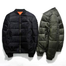 Wholesale Express Men Jacket - American Express Tide brand air force ma1 aviator jacket male thickened winter baseball uniform couple jacket