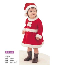 Wholesale Twins Clothing Boys - Wholesale -Winter Baby boy onesies BELLE MAISON Christmas Rompers&Christmas conjoined twin clothes Christmas skirt