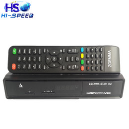 Wholesale Dvb Decoder - 10pcs Enigma2 linux os Combo decoder Zgemma Star H2 HD DVB-S2 DVB-T2 C Satellite TV Receiver no have boot problem free shipping