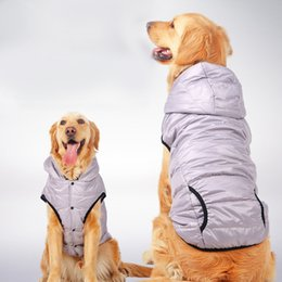 Wholesale Wholesale Ski Coats - 2018 hot sell keep warm windbreak ski suit large Dog Clothes Pet Clothes For Dog for cat