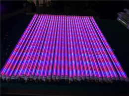 Wholesale Lead Farm - 25PCS LOT 18W 1200MM 4FT LED Grow Tube Light with Fixture - Green house, Farm & Flower - Especially