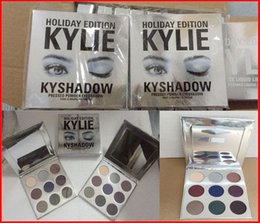 Wholesale More Longer - hot kylie holiday edition kyshado Kylie Eye Shadow Cosmetics Bronze Eyeshadow KyShadow Palette new kylie Eye Shadow free shipping more stock