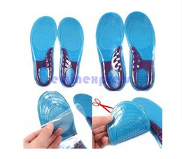 Wholesale Insole Arch Sport - Men Women Silicone Gel Orthotic Arch Support Massage Sport Shoe Insoles Run Pad Shockproof 100% Brand New And High Quality
