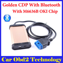 Wholesale M6636b Oki Chip - V2014.02 with keygen ! Tcs Cdp Pro Scanner With Oki ( M6636B OKI Chip) and bluetooth For Cars And Trucks by DHL Free Shipping