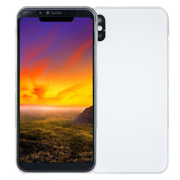 Wholesale Gps Tv 3d - Face ID 4GB 32GB Goophone X V6 4G LTE 64-Bit Octa Core MTK6753 3D Touch GPS Wireless Charging 16.0MP Camera Back Glass Smartphone