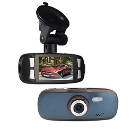"Wholesale Avc Dvr - Car dvr vision balck carcam Dash Cam GS108 Car Black Box G1W With Novatek 96650 + WDR Technology + AVC 1080P 30FPS + G-Sensor + 2.7"" LCD"