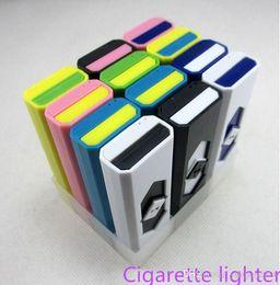 isqueiro usb usb Desconto 2015 isqueiros USB portátil bateria recarregável eletrônico cigarro sem chama mais leve à prova de vento domésticos Diversos ..