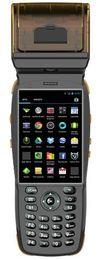 PDA de mano al por mayor android 4.2 con escáner de impresora térmica / código de barras y lector de tarjeta nfc desde fabricantes