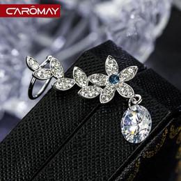 Wholesale Earring Bone Hook - Carlo US jewelry incense filled room single ear hook ear bone earrings female 2015 Korean fashion personality earring
