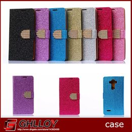 Wholesale Diamond Glitter Sparkling Leather - Glitter Sparkle Bling Diamond Buckle Wallet Leather Pouch Case For Samsung S6 iphone 6 6plus LG G4 HTC Credit Card Stand 300pcs up