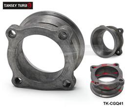 """TANSKY - Bride d'échappement de 2,5 """"à diamètre intérieur et à 4 boulons pour tuyau d'échappement (adaptateur turbo) TK-CGQ41 ? partir de fabricateur"""