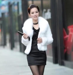 Wholesale Leather Mink Coats Women - 2016 New Winter Leather grass fox fur mink rabbit fur women fur coat