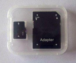 2019 tarjetas micro sd para celulares 100% Real tarjeta de memoria Micro SD tarjeta TF 4GB con adaptador para teléfono celular MP3 / 4/5 Tablet PC tarjetas micro sd para celulares baratos