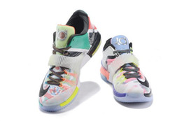 Wholesale Kevin Durant Halloween Shoes - New Kevin Durant What the KD 7 VII MVP SE Glow In Dark Men Basketball Shoes,Men's Kds Sport Shoes for sa