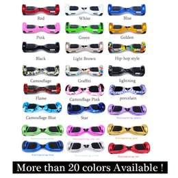 Wholesale Two Wheel Balance Boards - 20 PCS Self Balance Kick Electric Scooter Skateboard Electric Hoverboard 6.5 inch Two Wheels Hover board