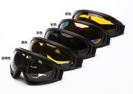 Wholesale Pcs Cs - Men's Ski Goggles Outdoor Sports Snowboarding Skate Goggles Women Snow Skiing Sun Glasses Riding Eyewear CS Protective UV400 Protection 1 PC