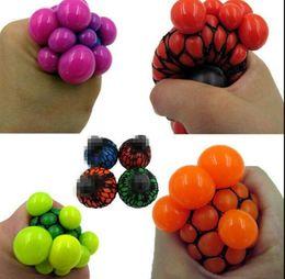 Argentina 6 cm Anti Estrés Anti Grape Ball Squeeze Alivio Juguete Saludable Divertido Gadget Vent descompresión juguetes KKA3564 cheap healthy ball Suministro
