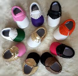 Wholesale Baby Walking Sandals - Baby Moccasins Kids Moccs Baby Shoes Sandals Fringe First Walking Shoes 2015 New Designed Toddler Shoe BJ D5921