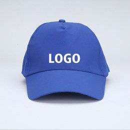 Wholesale Multi Advertising - DIY Customize Fashion Outdoor Sports Hats Custom Made for Advertising hat Caps activities hat Women MEN Kids Free Shipping