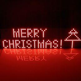 Wholesale Led Lighting Matrix - Wholesale-Provide UNO MEGA2560 code 64x16 dot Matrix LED for Arduino AVR MCU diy Christmas Gifts Sign Light Neon Bright