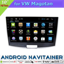 Wholesale Gps Tpms - Android 2 Din GPS Multimedia Car Dvd Stereo Radio for VW Magotan with BT TV RDS OBD TPMS Mirror-Link