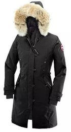 Wholesale Female Goose - 2017 new white goose down jacket outdoor Canada warm down jacket cold -30 ° warm female long paragraph warm down jacket