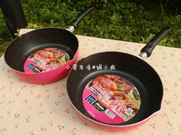 Wholesale Gas Wok - Wholesale-30cm wok flat bottom pot soup pot gas cooktop   pan