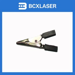 Wholesale Co2 Laser Supplies - low price CO2 Laser Cutting Machine Hand Adjust Part Laser Power Supply Crocodile Clip