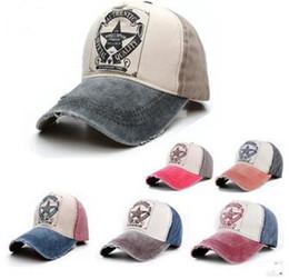 Wholesale Korean Style Hats For Women - Fashion Korean Style Star Sweet Hearts Hat Retro Letters Snapback Hats For Men Women Ball Caps Hot