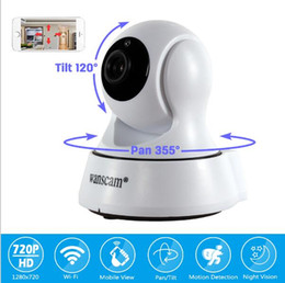 Wholesale Nightvision Ir - WANSCAM HW0036 Surveillance Camera 720P Wireless IR WiFi H.264 Indoor IP Security Camera with Pan&Tilt Motion Detection P2P