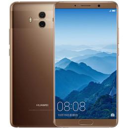 "Wholesale Huawei Thai - Original Huawei Mate 10 4G LTE Mobile Phone 6GB RAM 128GB ROM Kirin 970 Octa Core Android 8.0 5.9"" 2K Screen 20MP NFC Fingerprint Cel lPhone"