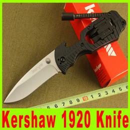 Wholesale Wholesale Knife Kit Sales - Hot sale! Kershaw 1920 Multi-function Camping Pocket EDC Folding knife Screwdriver Multi tool Kit 8Cr13Mov Blade 492X