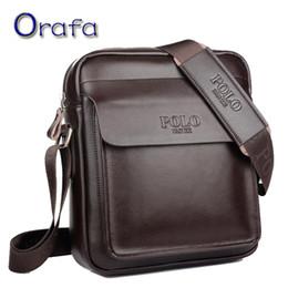 Wholesale Shoulder Bag Briefcase Men - Wholesale- Men crossbody bag Polo 2016 fashion men messenger bag designer famous brand shoulder bag business briefcase for men