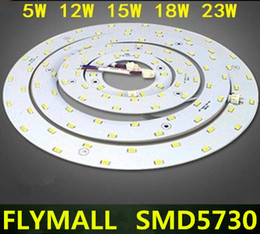 Wholesale Round Panel 15w - 5W 12W 15W 18W 23W SMD 5730 LED Ceiling Circular Magnetic Light Lamp AC85-265V AC220V Round Ring LED Panel board with Magnet