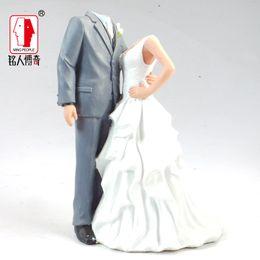 Wholesale Custom Real Doll - Wholesale-Wedding Gift Wedding Cake Topper Personalized Custom real doll custom clay dolls fixed resin body SR089