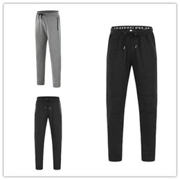 Wholesale Chinos Trouser - Fine quality UA Jogger Chinos Skinny Joggers Solid color Men New Fashion Harem Comfortable Long Solid Color Pants Men Trousers