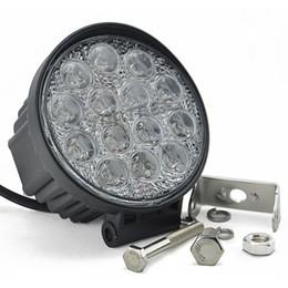 "Wholesale round car fog lights - Freeshipping 4.5"" 42W Round Epistar Driving Light Work Light Spot  Flood Car lamp Offroad Fog Light 4x4 Truck SUV Car Work Light"