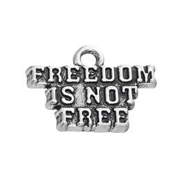 Freiheitszauber online-Freie neue Art und Weise des Verschiffens, die zu diy 30Pcs handgemachter Mitteilungs-Freiheit einfach ist, ist nicht freie zusätzliche Charme-Schmucksacheschmucksachen, die Sitz für Halskette oder bilden