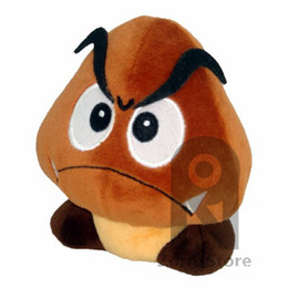 Wholesale Japanese Dolls Videos - Zorn Store-Super Mario Plush Doll Yoshi vs. Goomba Soft Stuffed Plush Toy Poisonous mushrooms Chestnut Aberdeen 5 Inches Japanese Import