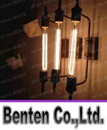 Wholesale Mirror Light Bars - Oft Steam Tube Wall Lamp Mirror Lighting Factory Industrial Style Dinning Room Living Room Hotel Cafe Bar Light Vintage Wall Sconce LLFA435