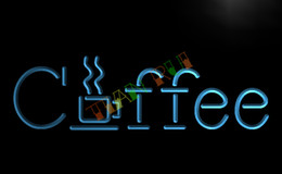 Wholesale Office Coffee Shop - LB361-TM Coffee Cup Cafe Shop Restaurant Neon Light Sign. Advertising. led panel.jpg